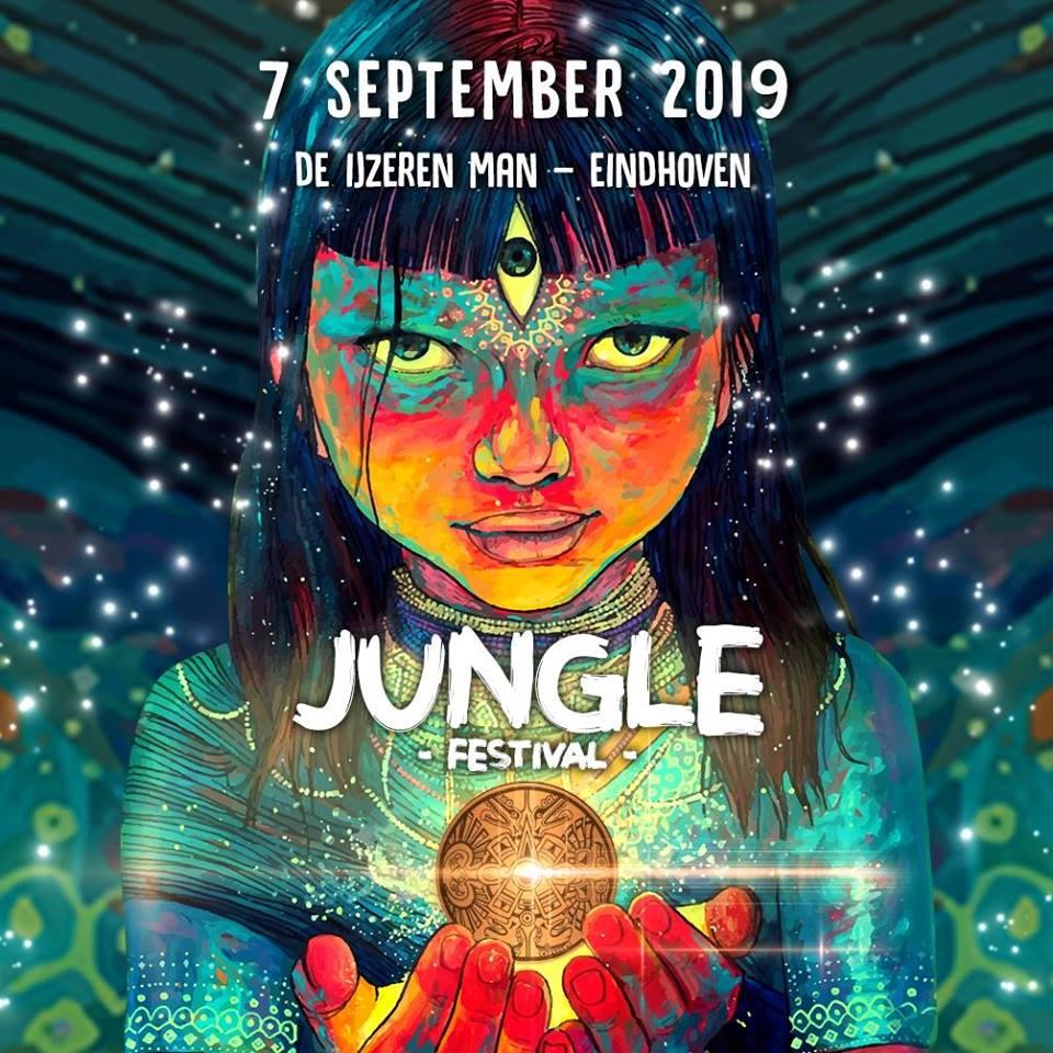 Cartell de Jungle Festival 2019 a Eindhoven