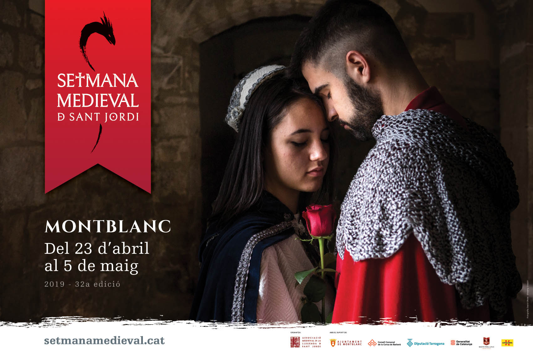 Cartell Setmana Medieval de Montblanc 2019