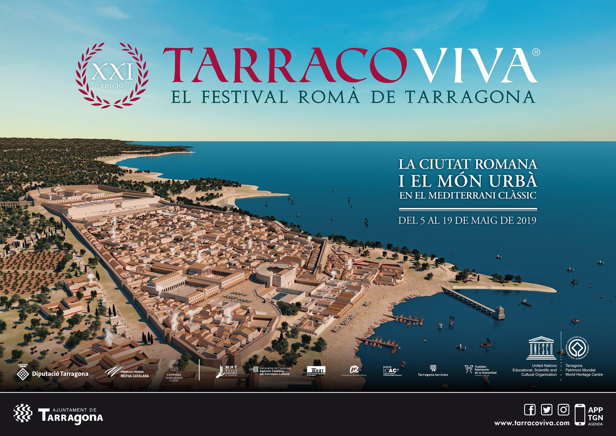 Cartell de Tarraco Viva 2019