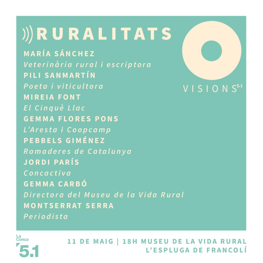 Visions 5.1 Ruralitats