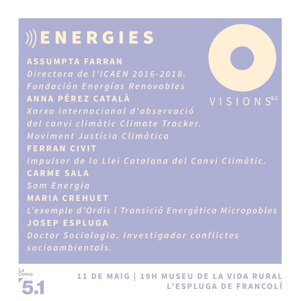 Visions 5.1 Energies