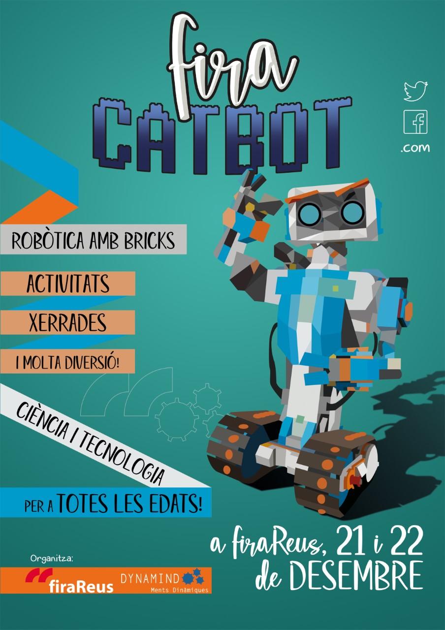 Cartell de fira CATBOT, edició 2019