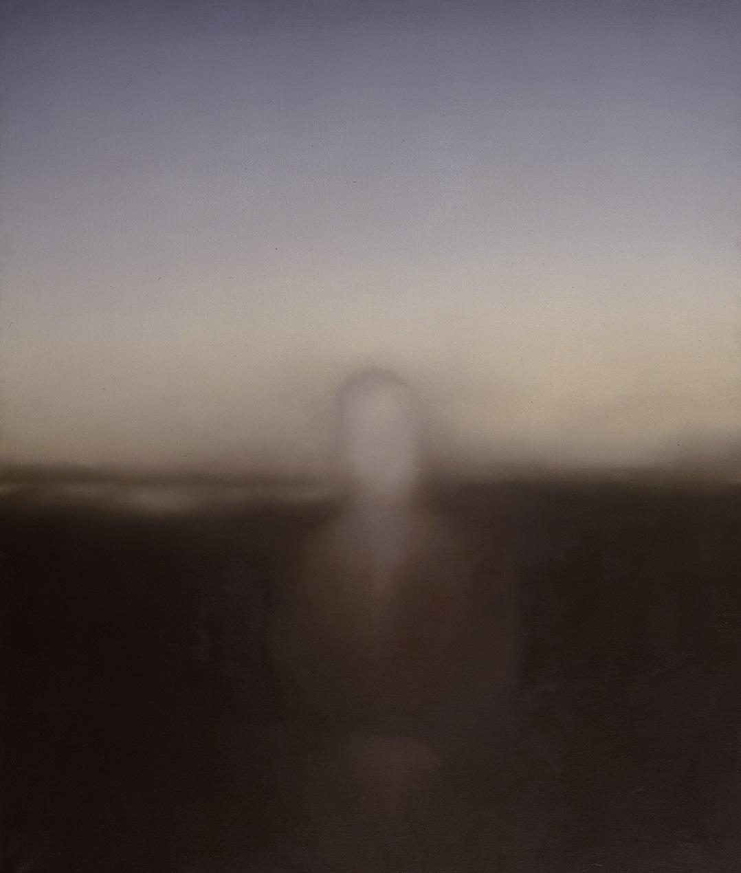 Gerhard Richter (* 1932), retrat de Dieter Kreutz, 1971, oli sobre tela, 150 × 125 cm. © Gerhard Richter 2019, foto: Anne Gold
